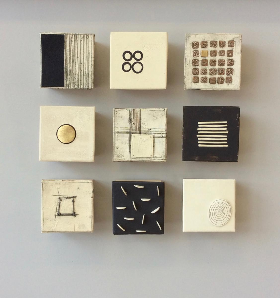 """Nine""          16""x16""x2.5""