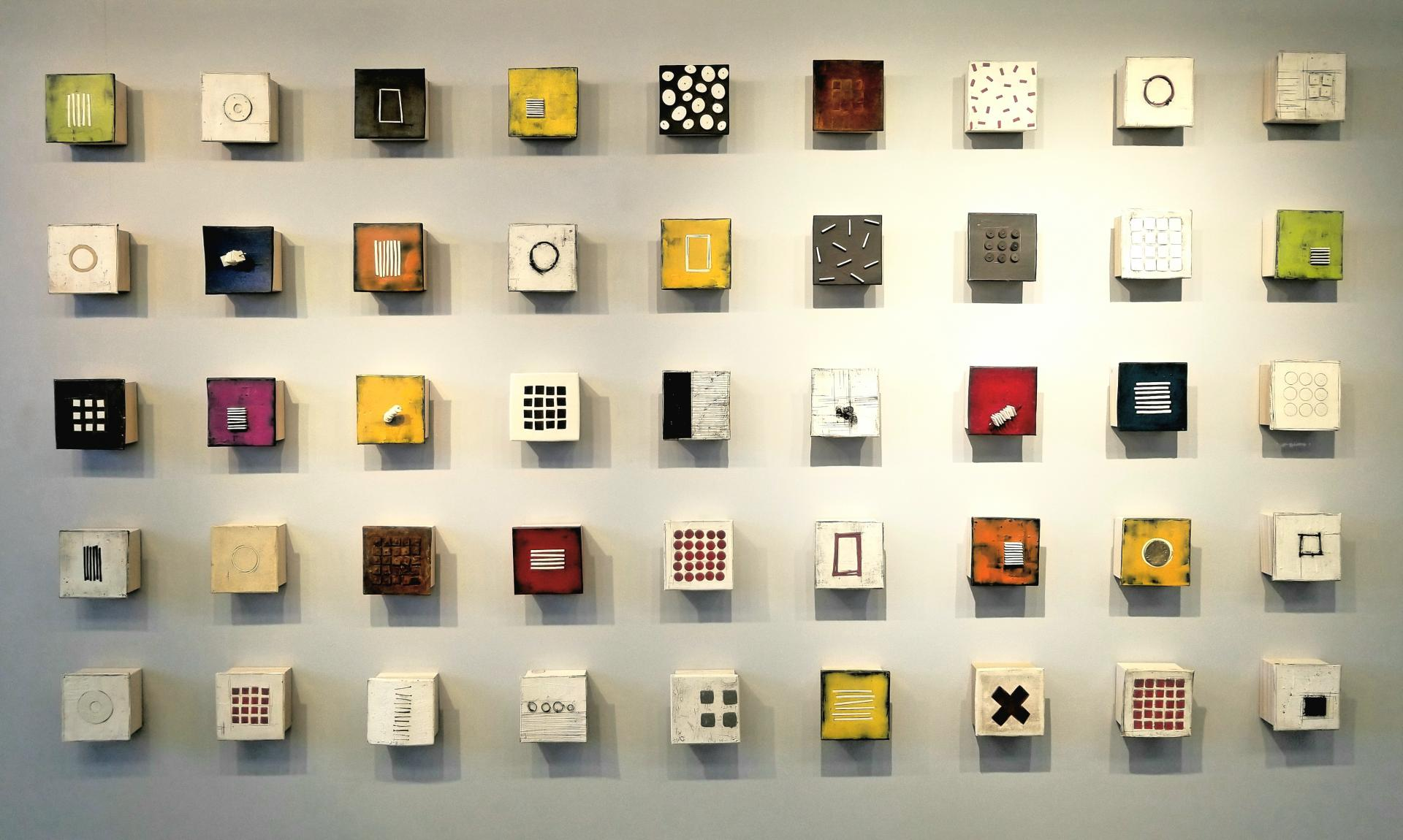 Wall of Small Squares