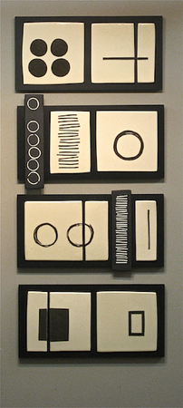 Wall Panels : Portfolio  : Lori Katz Ceramic Design | Ceramic Wall Art