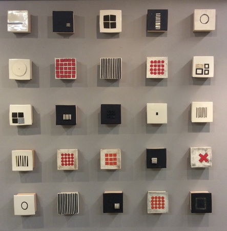 Wall Square Grouping : Portfolio  : Lori Katz Ceramic Design | Ceramic Wall Art