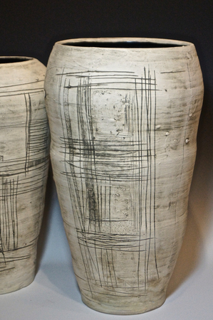 Big Vases : Portfolio  : Lori Katz Ceramic Design | Ceramic Wall Art