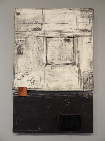 Black, White and Rust : Portfolio  : Lori Katz Ceramic Design | Ceramic Wall Art, Wall Squares, Stoneware