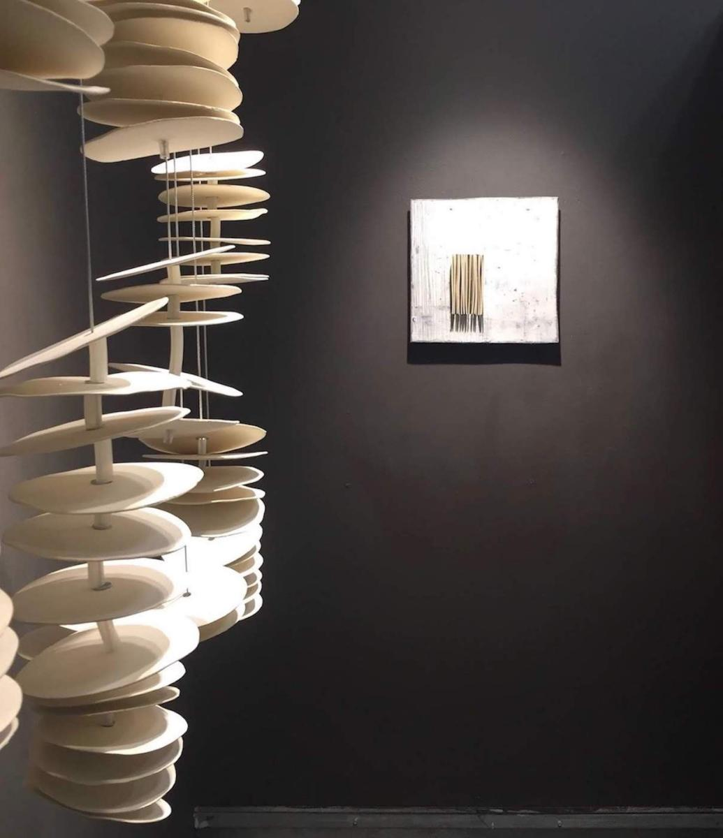 site specific sculpture : Portfolio  : Lori Katz Ceramic Design | Ceramic Wall Art