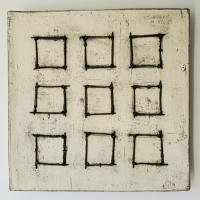 Nine Wire Squares  $625.